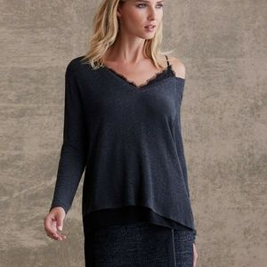 Bailey 44 Hannah Top 1 Cold Shoulder Cami Attached